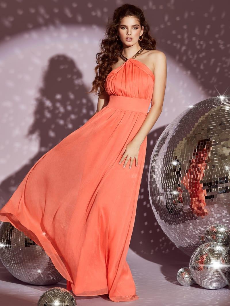 Smitten Halter Gown