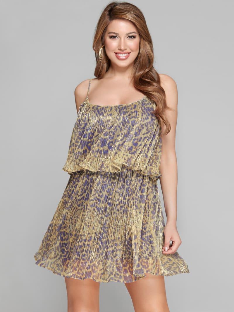 Liquid Leopard Dress