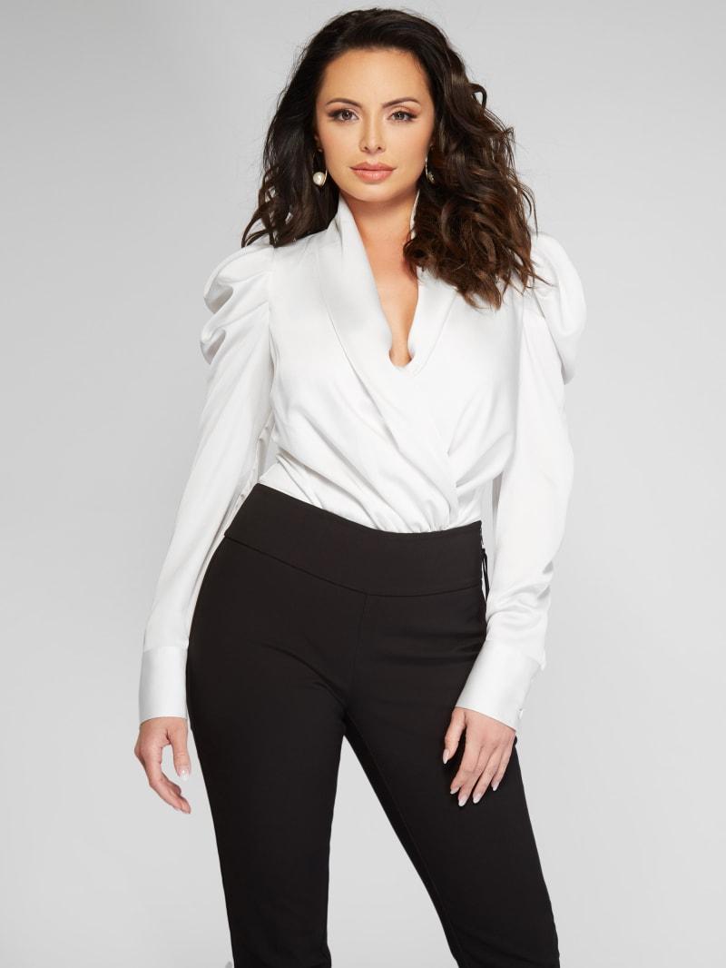 Fabiola Satin Bodysuit