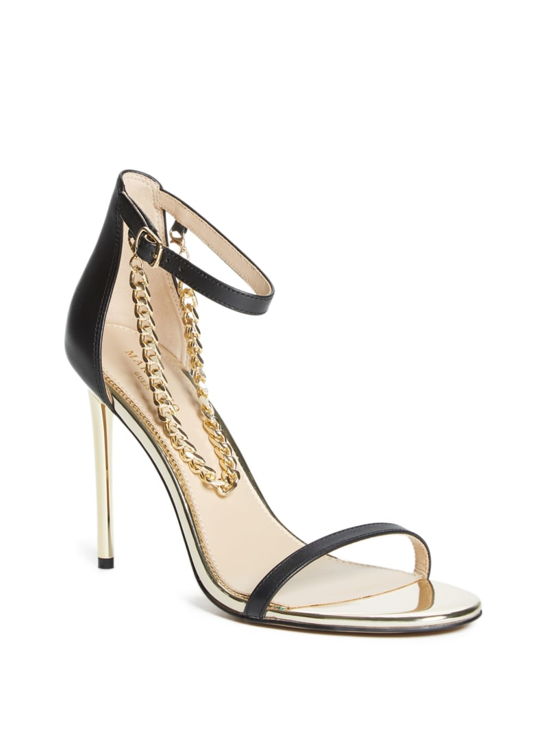 Chain Stiletto Sandal
