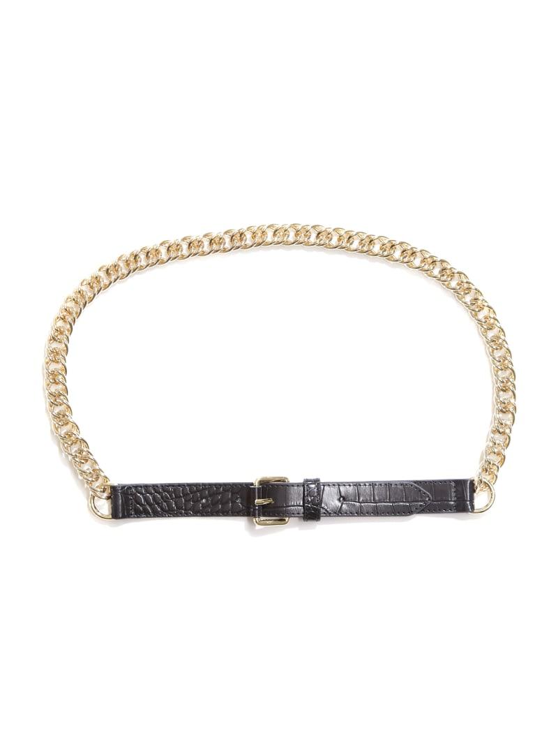 Crocodile Chain Belt