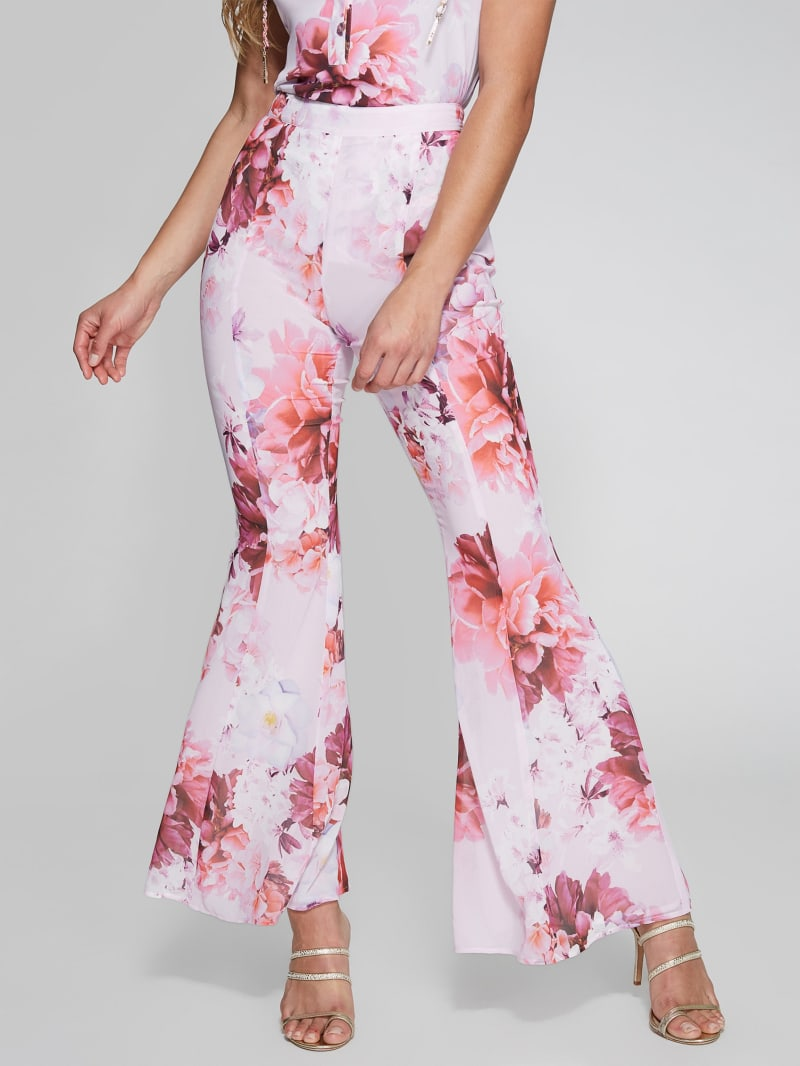 Floral Bomb Flare Pant