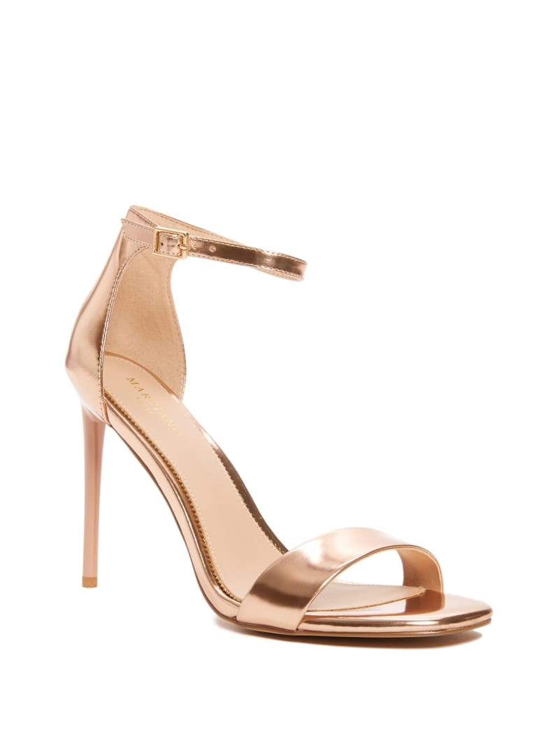 Vixen Metallic Heeled Sandal