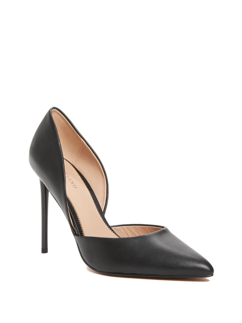 Heartbreaker Leather d'Orsay Pump