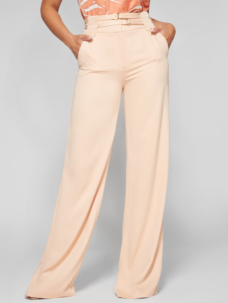 Moss Soft Double Belt Pant
