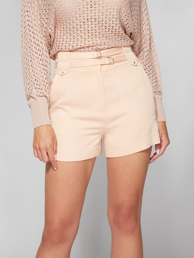 Moss Soft Double Belt Short