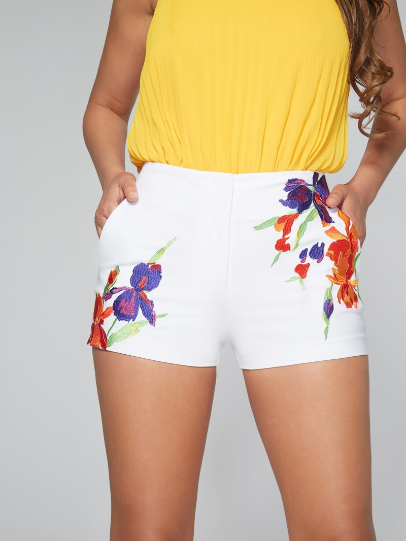 Copacabana Embroidered Short