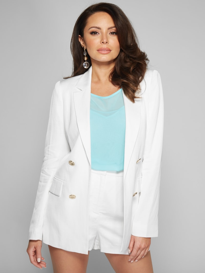 Tahiti Breeze Double Breasted Blazer