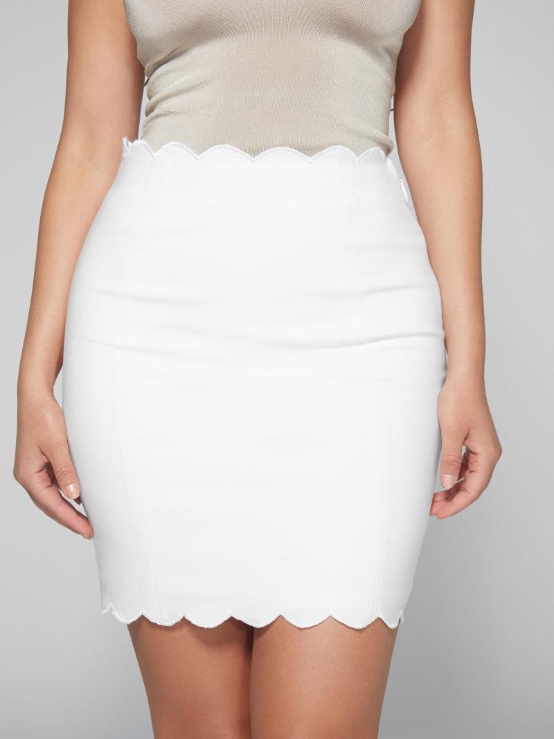 Vania Scalloped Skirt