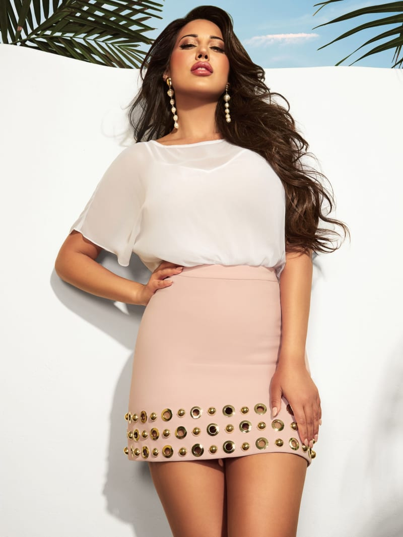 Sun A-Line Skirt