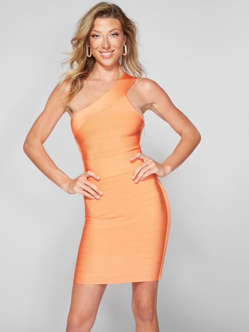 Luisa One-Shoulder Bandage Dress