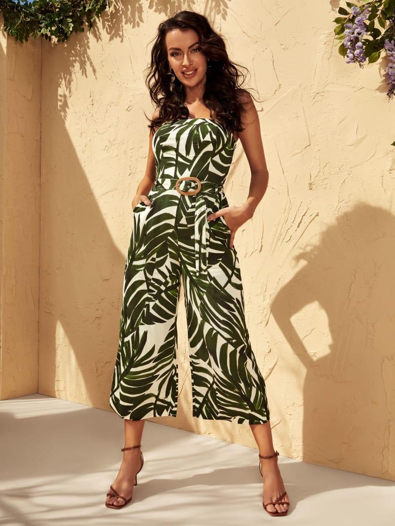 Rio Palm Jumpsuit