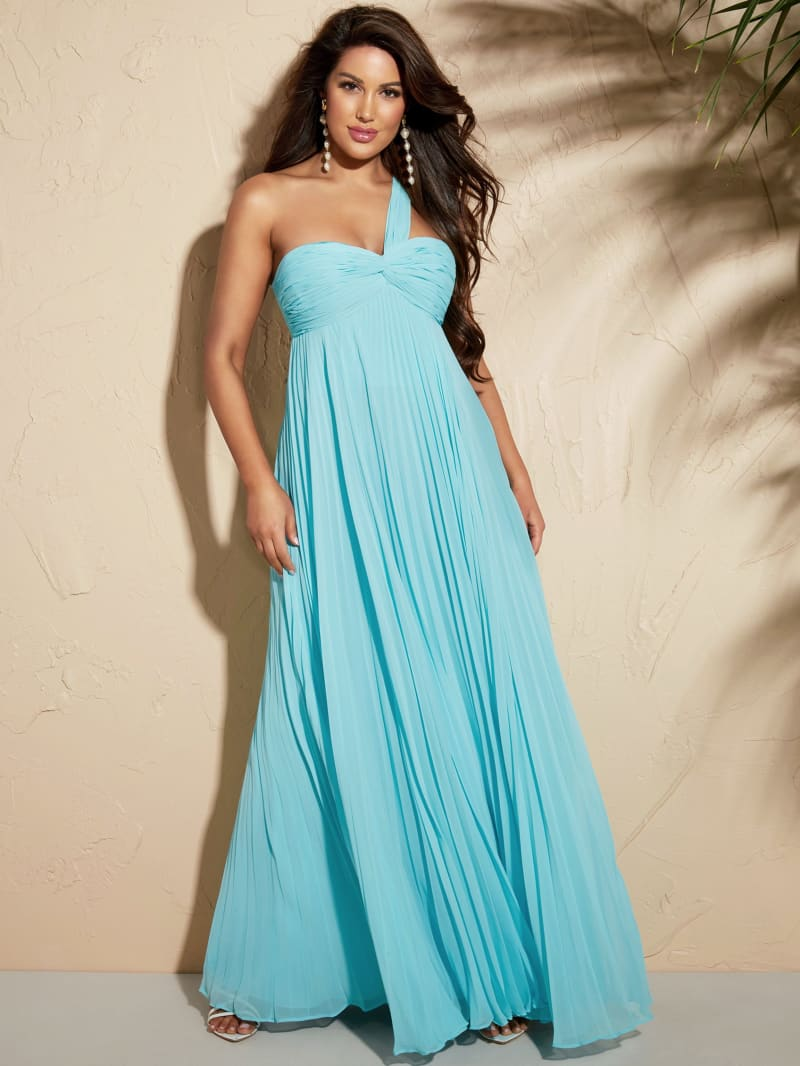 Scarlett Pleated Maxi Dress