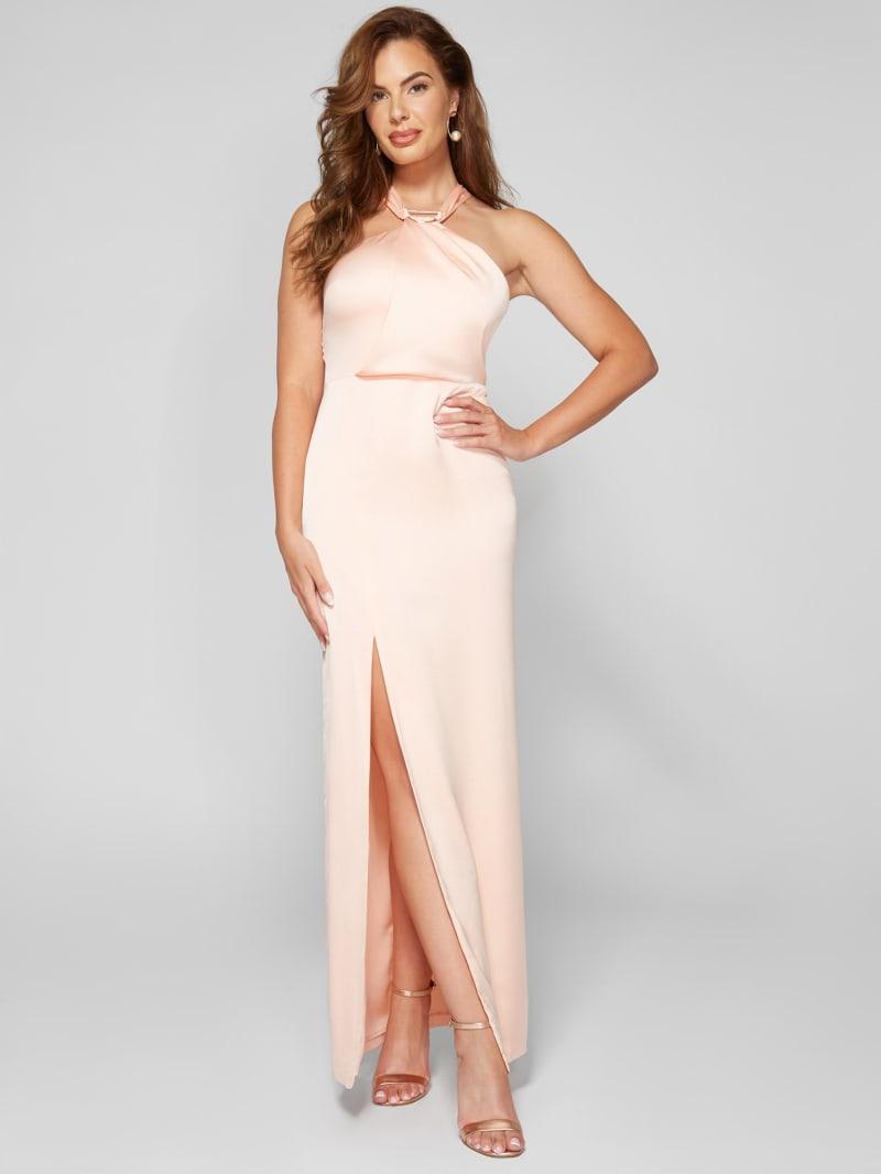 Lenzi Halter Maxi Dress