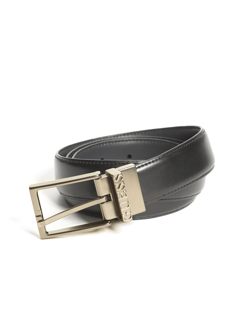 Reversible Logo Buckle Belt