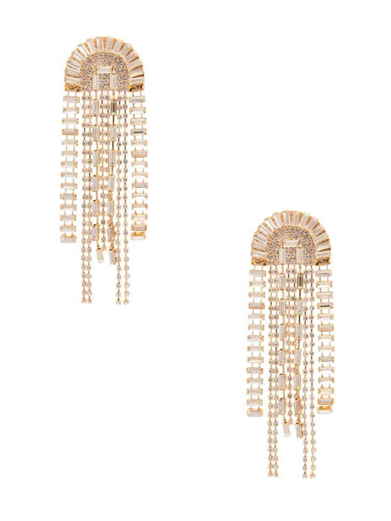 14KT Dome Shape Fringe Earring
