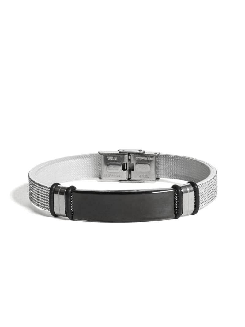 Silver-Tone ID Bracelet