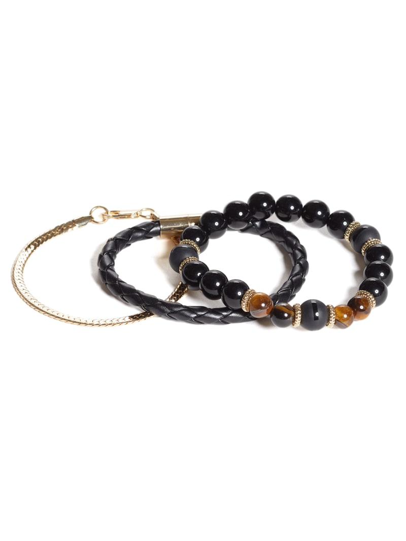Tiger Eye Layered Bracelet Set