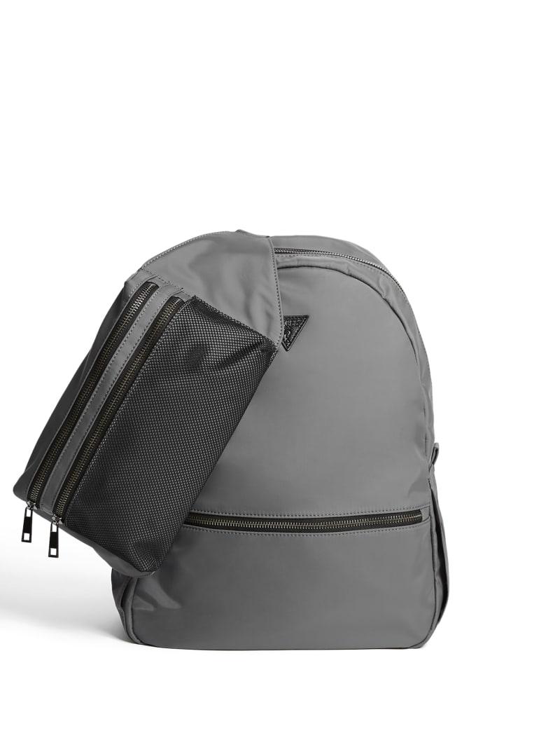 2-In-1 Nylon Backpack And Belt Bag