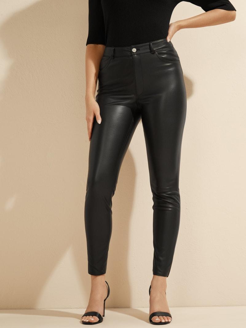 Nova Faux-Leather Skinny Pant