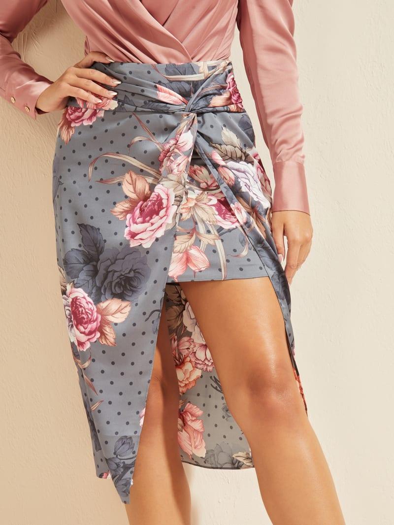 Opulent Rose Skirt
