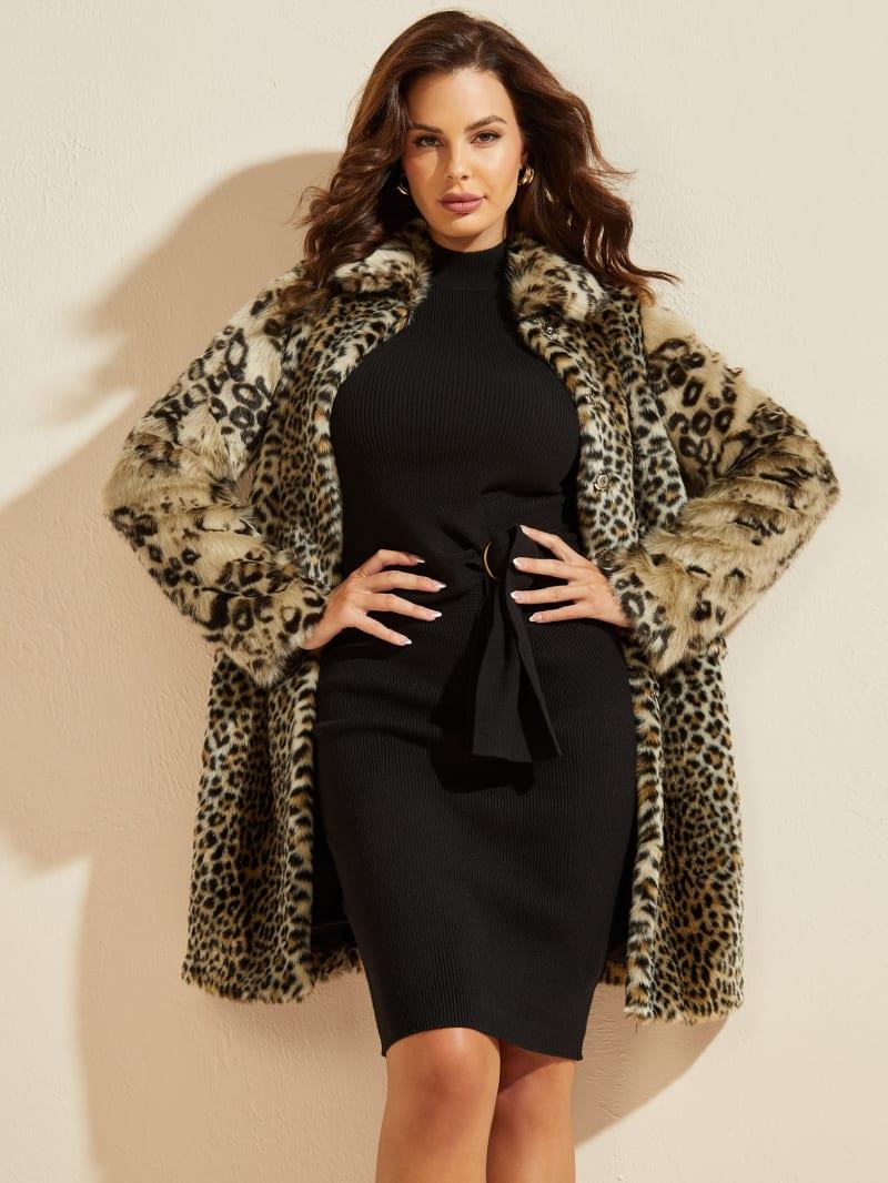 Monique Faux-Fur Coat