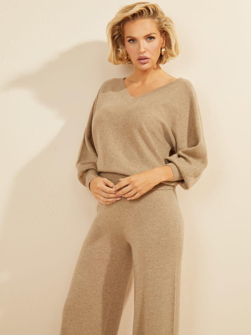 Charlotte Cashmere Pullover Top