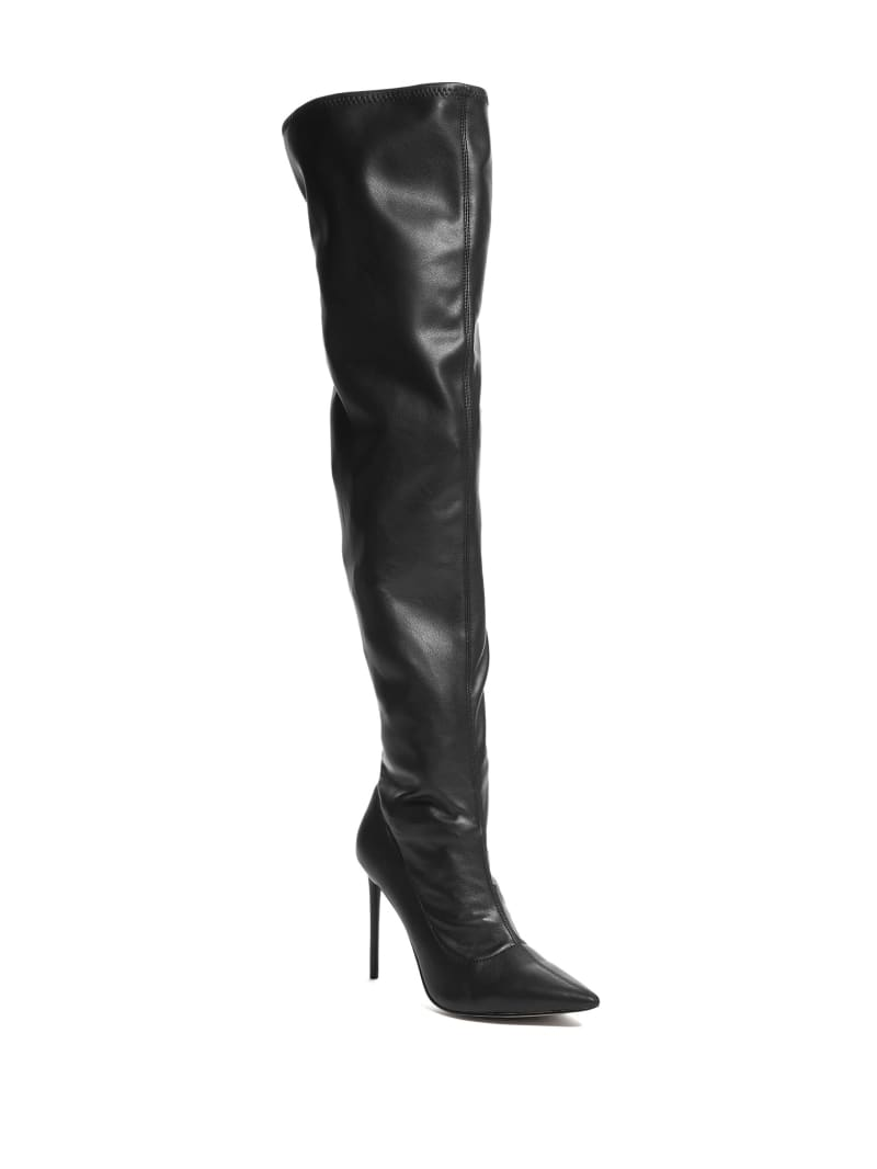 Over-the-Knee Heeled Boot