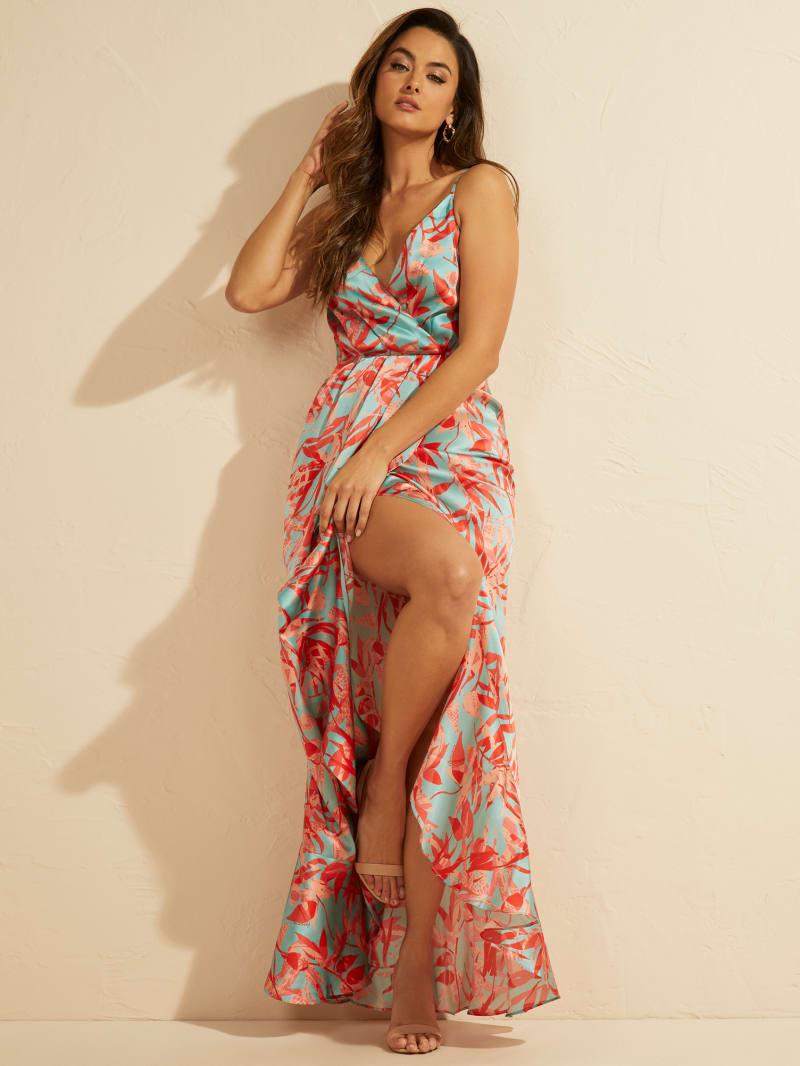Jhoana Silk Dress