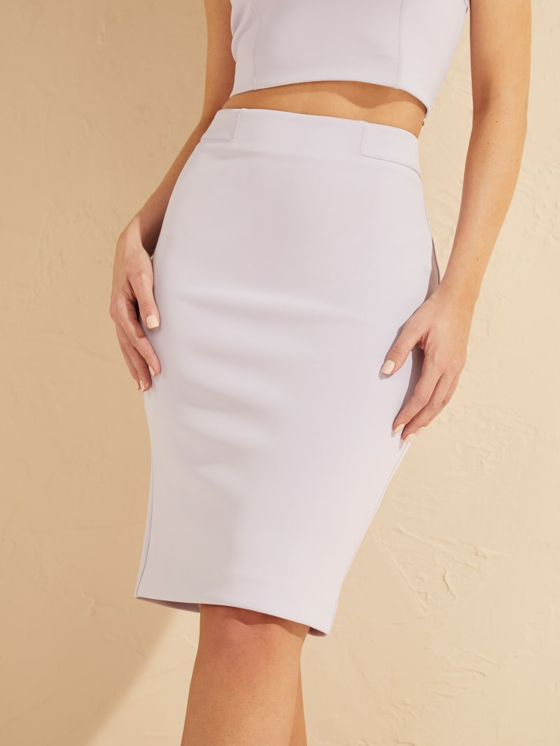 Blurred Love Scuba Skirt