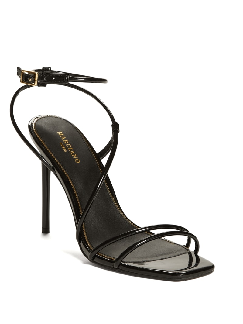 Strappy Cord Heeled Sandal