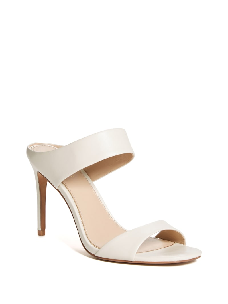 Double Strap Slip-On Heel