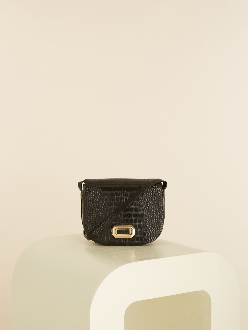 Crocodile Saddle Bag