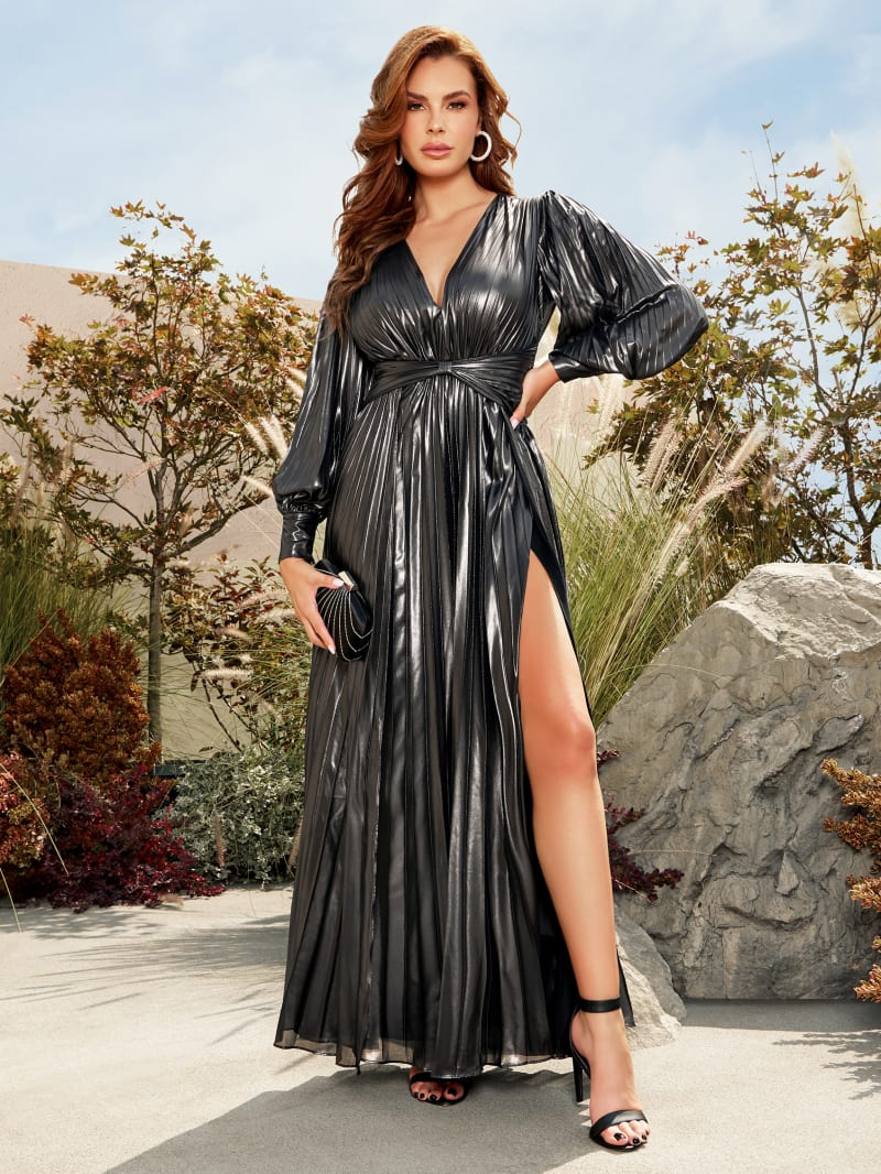 Bela Metallic Dress