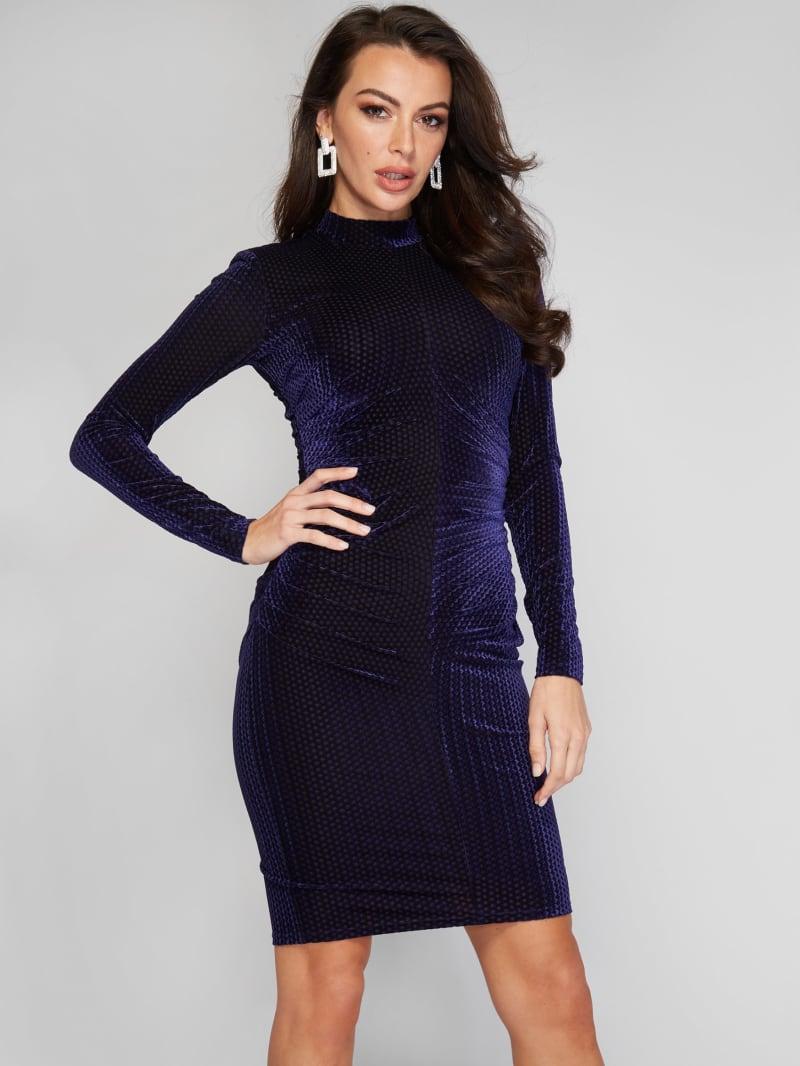 Rhea Pleated Dress