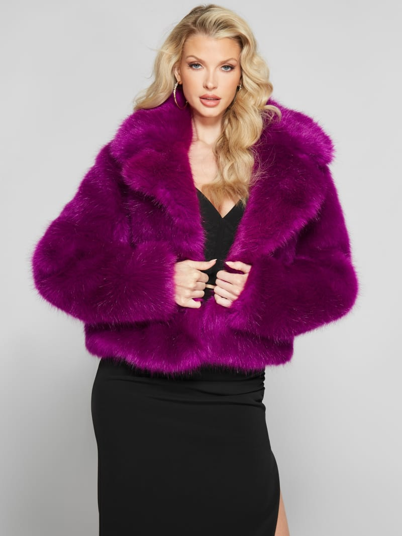 About Time Faux-Fur Coat