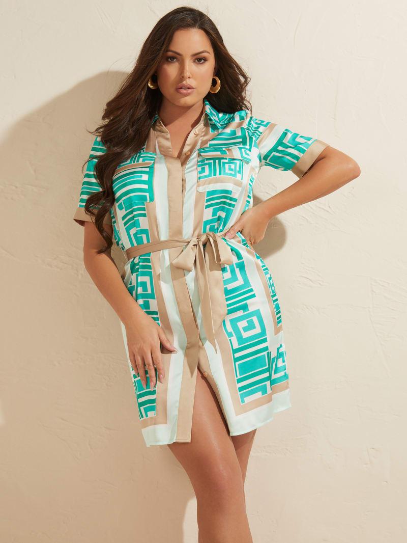 Olympia Shirt Dress