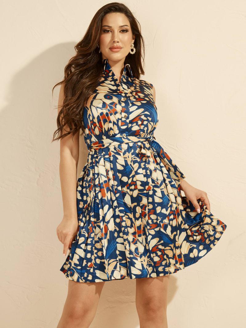 Papillon Shirt Dress