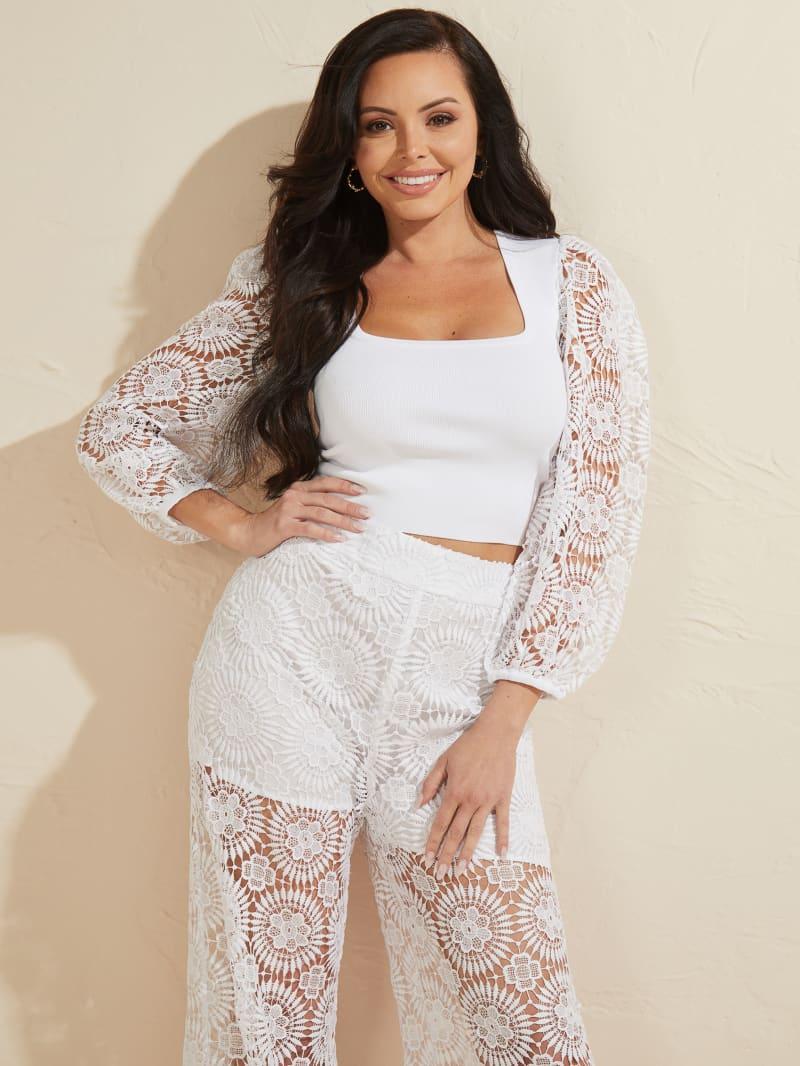 Dalia Lace Sweater Top