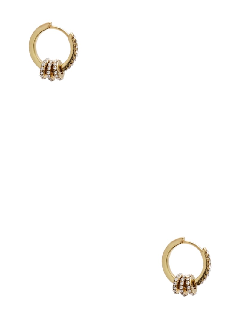 Gold-Tone Mini Hoop Earrings