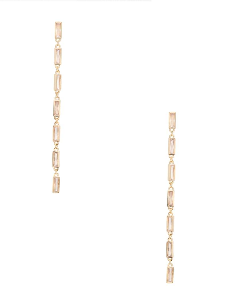 Baguette Linear Earrings