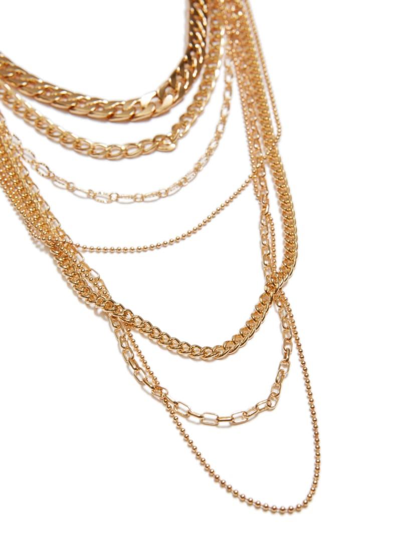 Gold-Tone Multi-Chain Necklace