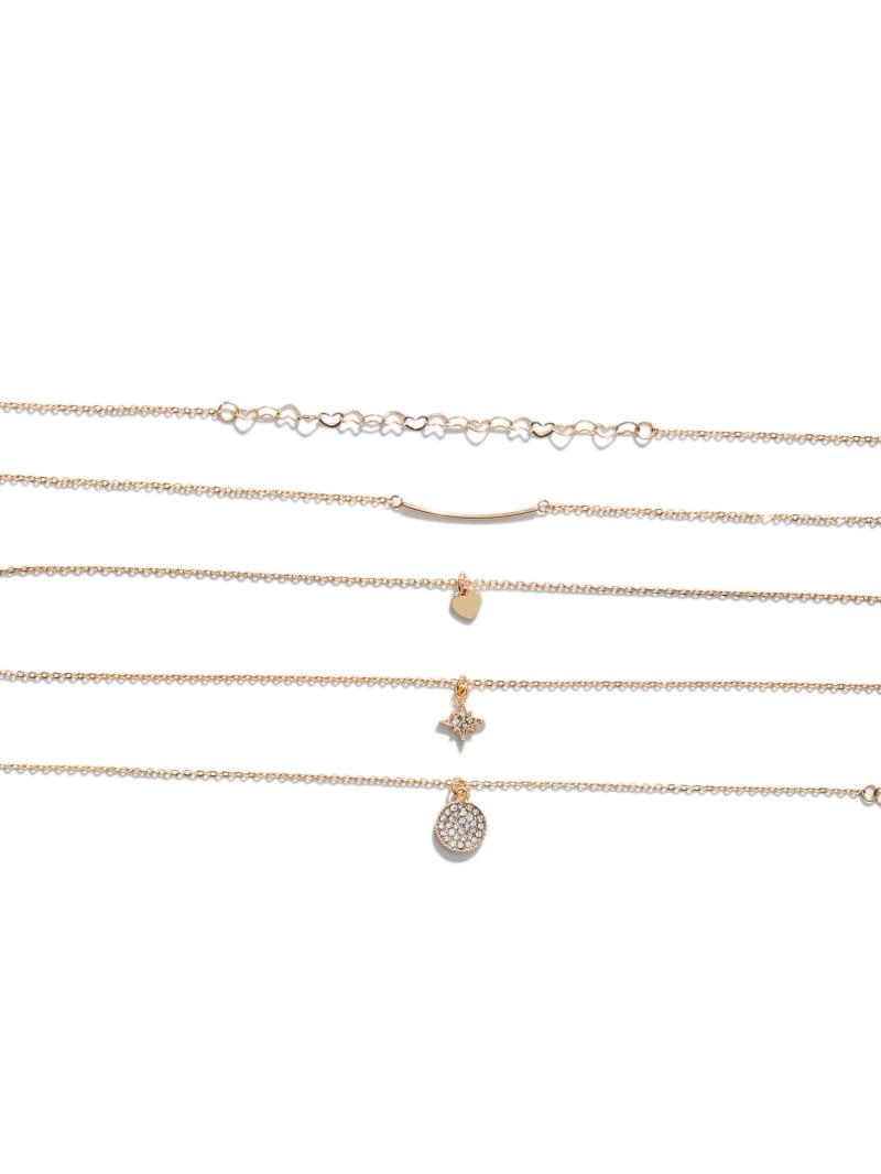 Gold-Tone Dainty Bracelet Set