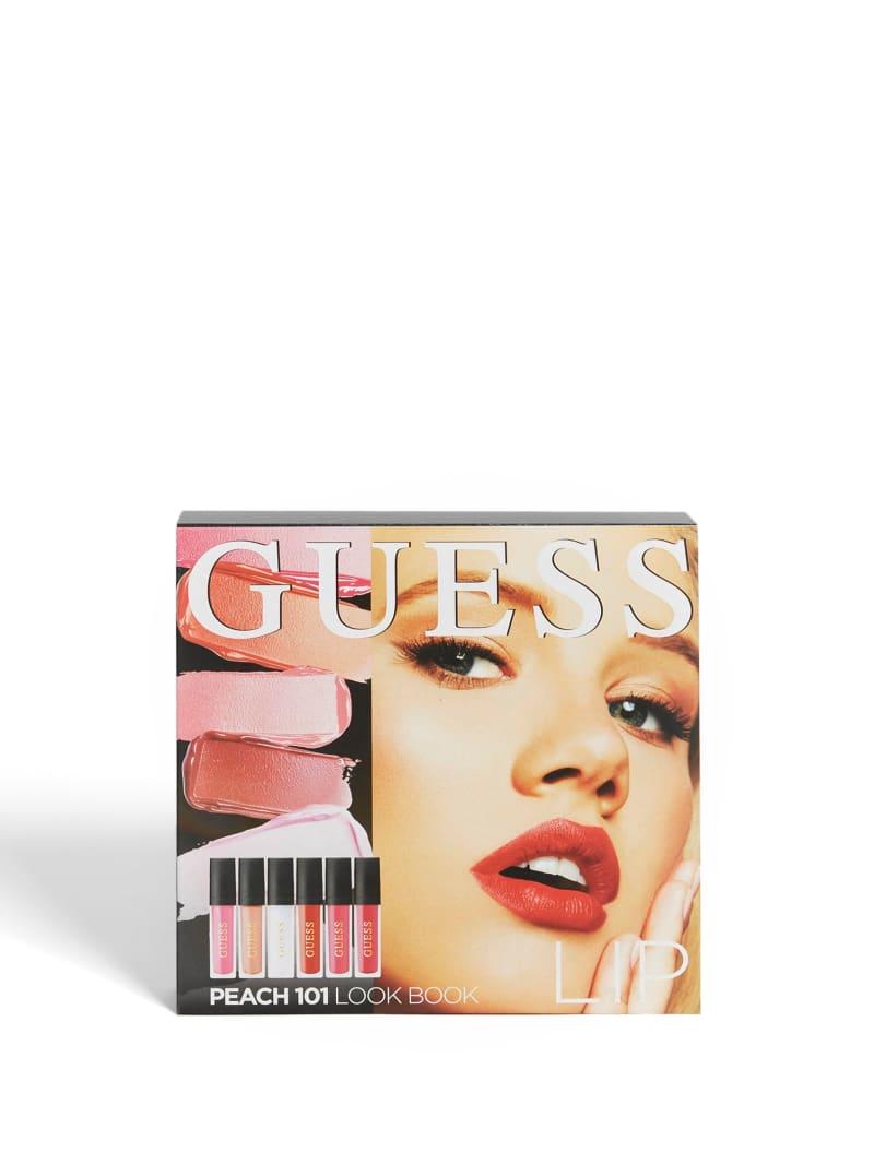 GUESS Beauty Peach 101 Lip Lookbook
