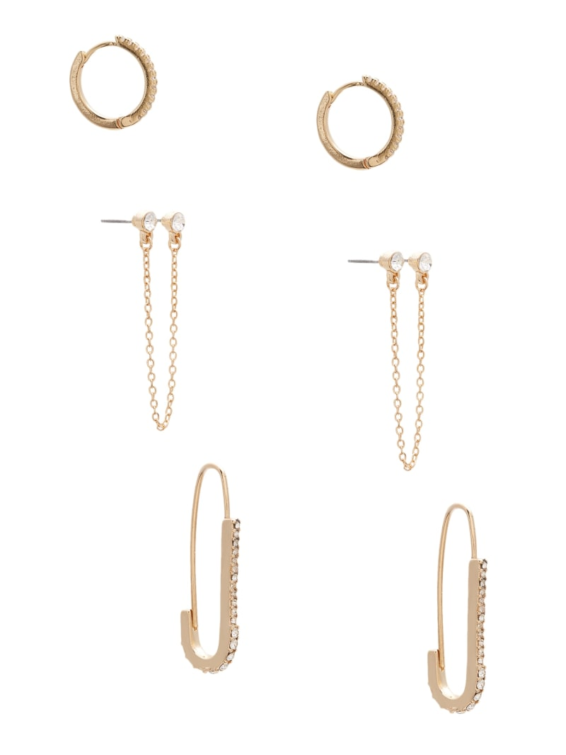 Safety Pin Earrings Set