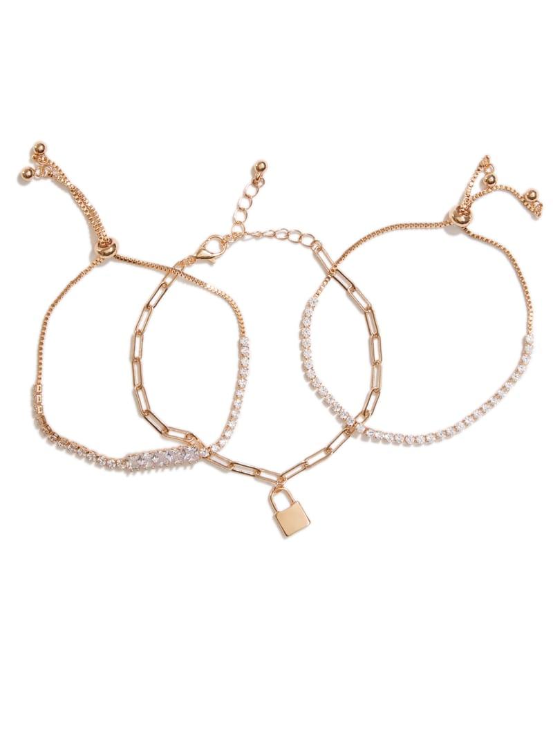 Gold-Tone Charm Bracelet Set