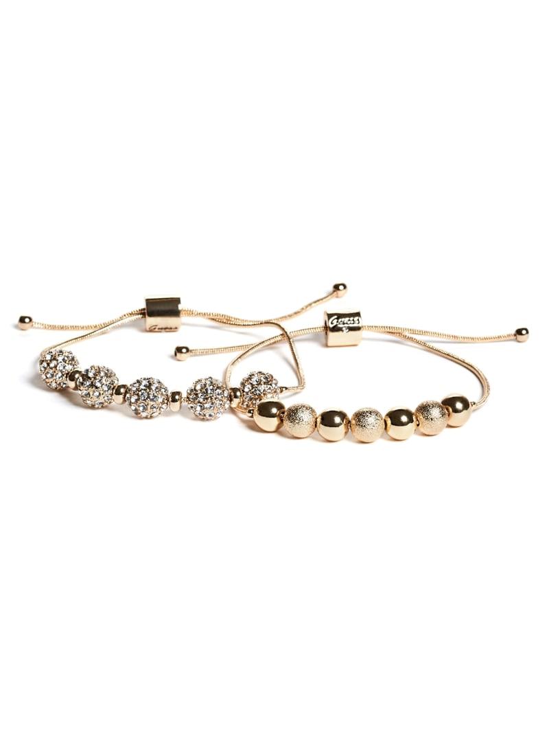 Gold-Tone Fireball Snake-Chain Bracelet Set