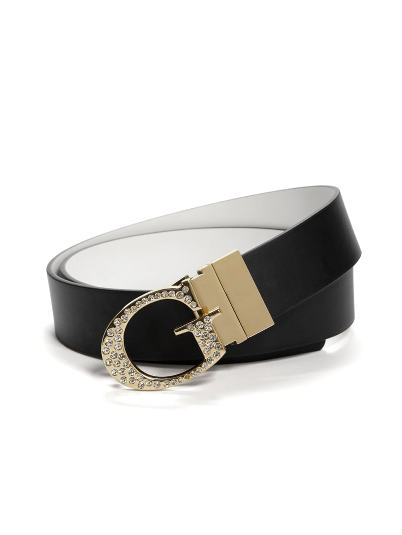 Embellished G Reversible Belt