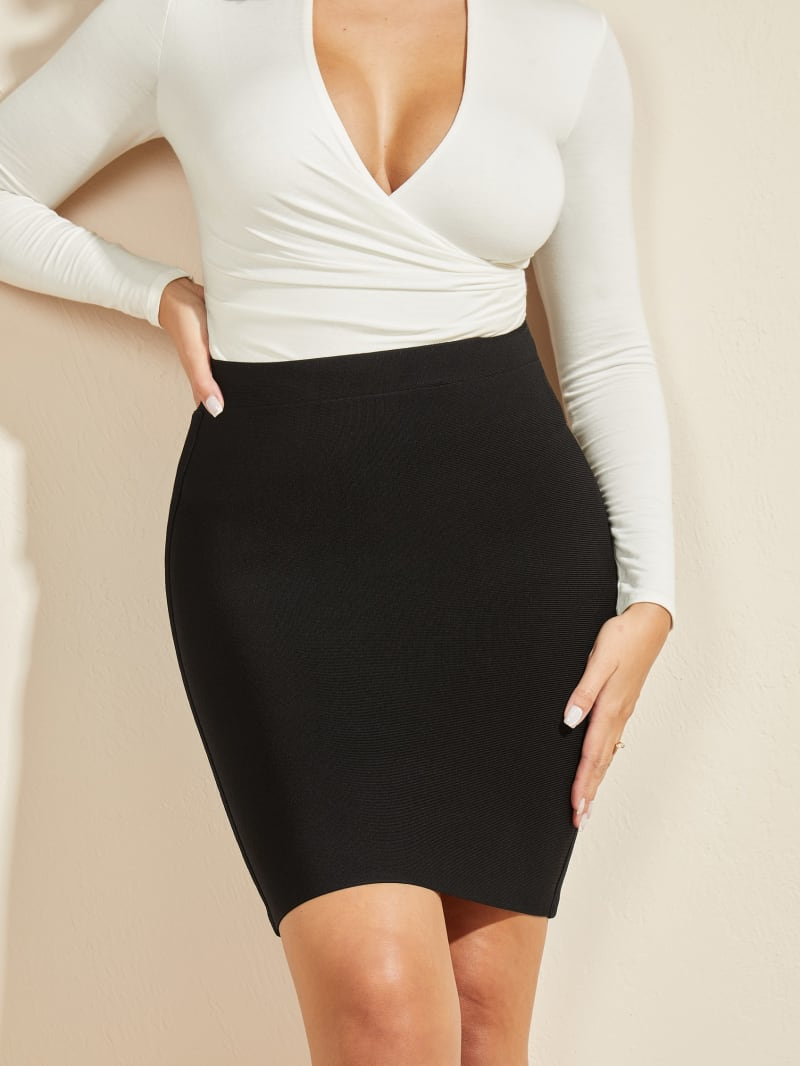 Mei High Waist Bandage Skirt