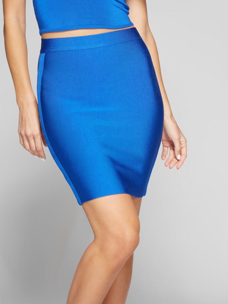 Mei High Waist Bandage Skirt